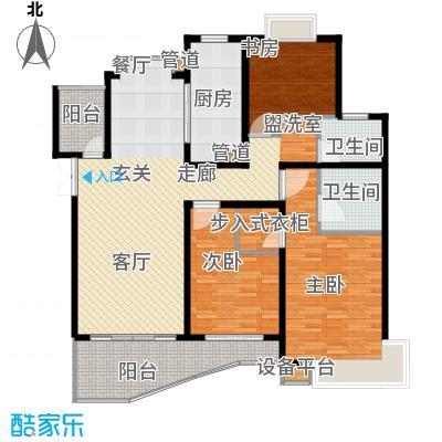 爱家亚洲花园108.00㎡房型: 三房; 面积段: 108 -125 平方米; 户型