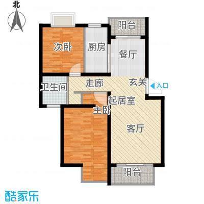 叠翠上南96.32㎡房型: 二房; 面积段: 96.32 -103.22 平方米; 户型