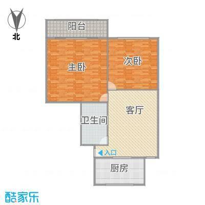 虹福小区户型图