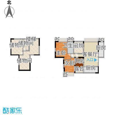 天目国际公馆天目国际公馆户型图20080805A-1户型(售完)3室2厅2卫1厨户型3室2厅2卫1厨