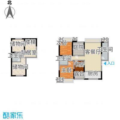 天目国际公馆天目国际公馆户型图20080805B-1户型(售完)3室2厅2卫1厨户型3室2厅2卫1厨