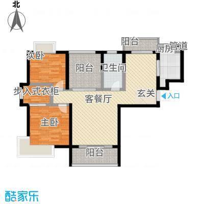 景隆现代城109.91㎡景隆现代城户型图Q户型3室2厅1卫1厨户型3室2厅1卫1厨