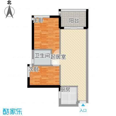 海怡东方花园74.98㎡深圳海怡东方花园户型图1户型10室