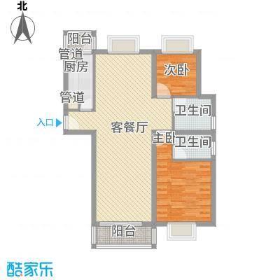 中央广场100.00㎡中央广场户型图I户型2室2厅2卫1厨户型2室2厅2卫1厨