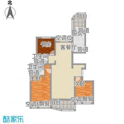 江城逸品147.91㎡江城逸品户型图5#P-1户型3室2厅2卫1厨户型3室2厅2卫1厨
