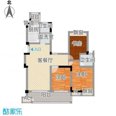 东方威尼斯125.00㎡东方威尼斯户型图G户型3室2厅2卫1厨户型3室2厅2卫1厨