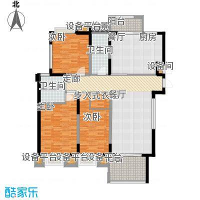金鼎名城122.00㎡金鼎名城户型图C3户型3室2厅2卫1厨户型3室2厅2卫1厨