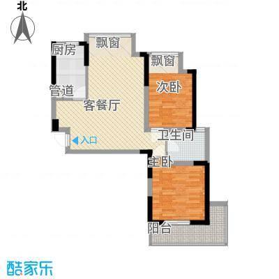银领时代99.08㎡银领时代户型图F62室2厅1卫户型2室2厅1卫