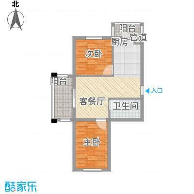 亿达帝景78.00㎡亿达帝景户型图多层A户型2室1厅1卫1厨户型2室1厅1卫1厨