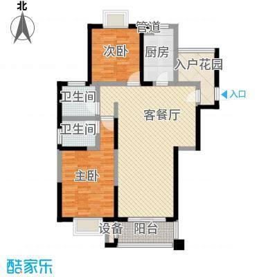 君御豪庭123.00㎡君御豪庭户型图B1户型2室2厅2卫1厨户型2室2厅2卫1厨
