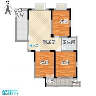 绿润名都120.05㎡绿润名都户型图F2户型3室2厅1卫1厨户型3室2厅1卫1厨