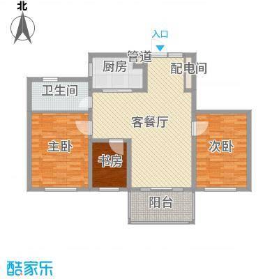 名都豪庭97.30㎡名都豪庭户型图9#楼标准层05室3室2厅1卫1厨户型3室2厅1卫1厨