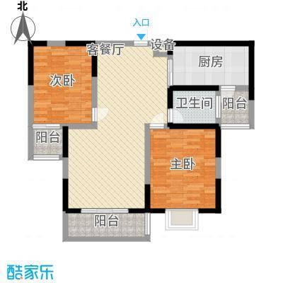 金和家园104.88㎡金和家园户型图J(高层)2室2厅1卫1厨户型2室2厅1卫1厨
