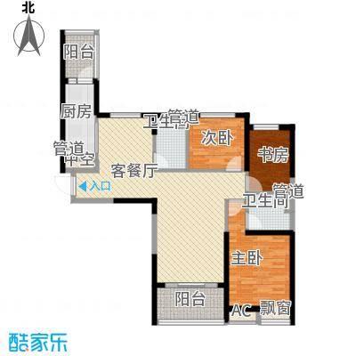恒大绿洲129.96㎡恒大绿洲户型图I户型3室2厅2卫1厨户型3室2厅2卫1厨