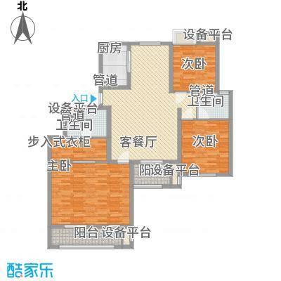 金鼎湾国际151.00㎡金鼎湾国际户型图I户型3室2厅2卫1厨户型3室2厅2卫1厨