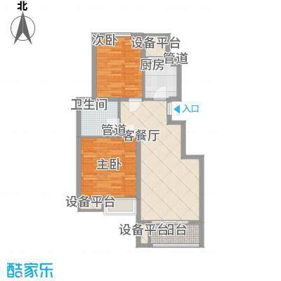 金鼎湾国际88.00㎡金鼎湾国际户型图A4户型2室2厅1卫1厨户型2室2厅1卫1厨