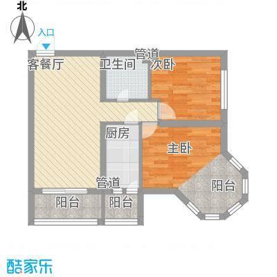 英伦名邸71.80㎡英伦名邸户型图D户型2室2厅1卫1厨户型2室2厅1卫1厨