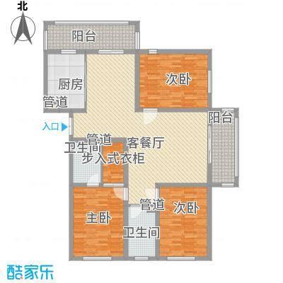 英伦名邸111.00㎡英伦名邸户型图4号楼1单元3室2厅2卫1厨户型3室2厅2卫1厨