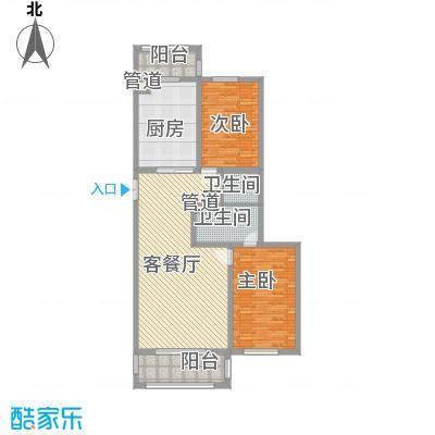 英伦名邸89.00㎡英伦名邸户型图5号楼2单元2室2厅2卫1厨户型2室2厅2卫1厨