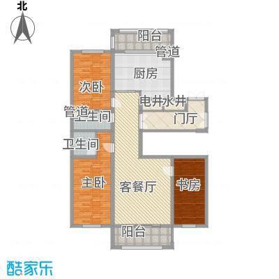 英伦名邸107.00㎡英伦名邸户型图5号楼2单元3室1厅2卫1厨户型3室1厅2卫1厨