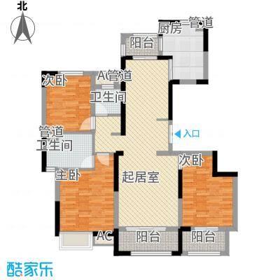盛和花半里141.00㎡盛和花半里户型图F户型3室2厅2卫1厨户型3室2厅2卫1厨