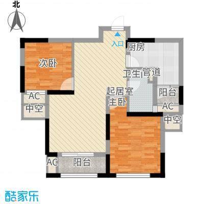 盛和花半里89.00㎡盛和花半里户型图C户型2室2厅1卫1厨户型2室2厅1卫1厨