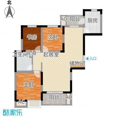 盛和花半里118.00㎡盛和花半里户型图B户型3室2厅1卫1厨户型3室2厅1卫1厨