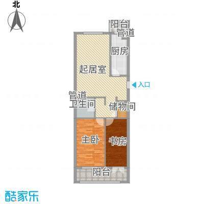 家园新城78.02㎡家园新城户型图C户型2室1厅1卫1厨户型2室1厅1卫1厨