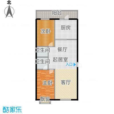 明珠公寓90.99㎡明珠公寓户型图D户型2室2厅2卫1厨户型2室2厅2卫1厨