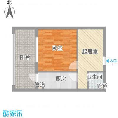 家园新城34.70㎡家园新城户型图E户型1室1厅1卫1厨户型1室1厅1卫1厨