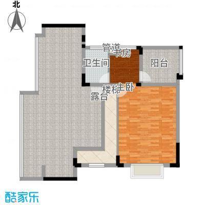 远大生态风景二期栖景湾179.00㎡8-12栋板式洋房L2户型上层户型5室3厅2卫1厨