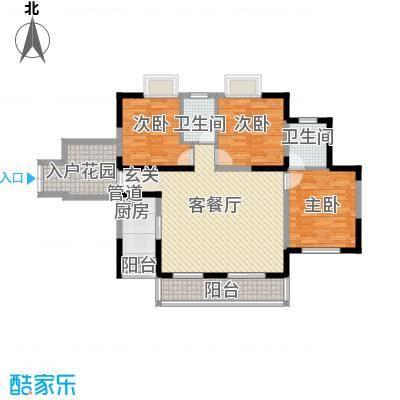 金阳新世界花园3室2厅户型10室