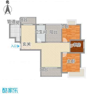 景隆现代城108.46㎡景隆现代城户型图E户型3室2厅1卫1厨户型3室2厅1卫1厨