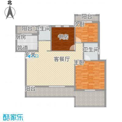 金龙国际花园114.59㎡金龙国际花园户型图户型29号楼B43室2厅2卫1厨户型3室2厅2卫1厨