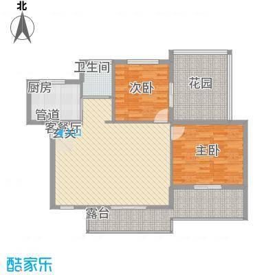 金龙国际花园85.89㎡金龙国际花园户型图户型29号楼B52室2厅1卫1厨户型2室2厅1卫1厨