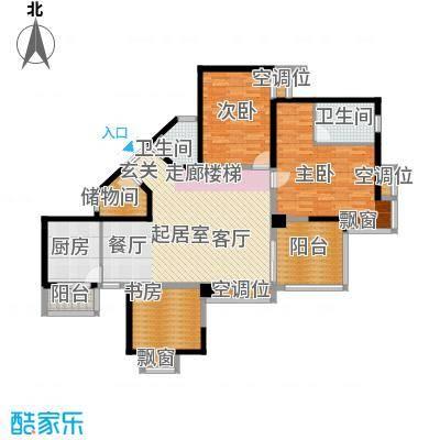 金元国际新城145.64㎡3Cg户型3室2厅2卫1厨