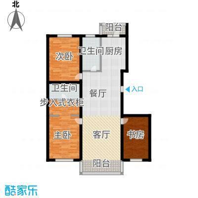 绿海华庭105.16㎡绿海华庭户型图高层I户型3室1厅2卫1厨户型3室1厅2卫1厨