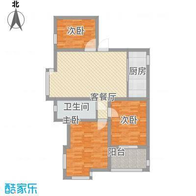 桃花源113.03㎡桃花源户型图A户型3室2厅1卫1厨户型3室2厅1卫1厨