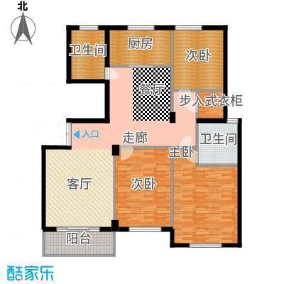 江阴外滩名门139.00㎡江阴外滩名门户型图N户型(8#楼)3室2厅2卫1厨户型3室2厅2卫1厨
