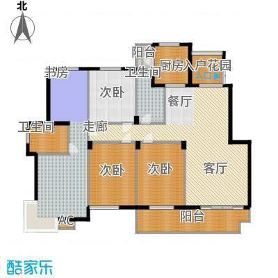江阴外滩名门192.00㎡江阴外滩名门户型图M户型(5#、6#楼)5室2厅2卫1厨户型5室2厅2卫1厨