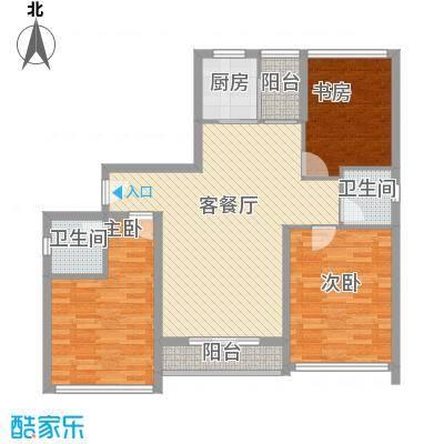 宝安椰林湾104.60㎡宝安椰林湾户型图A4户型(售完)3室2厅2卫户型3室2厅2卫
