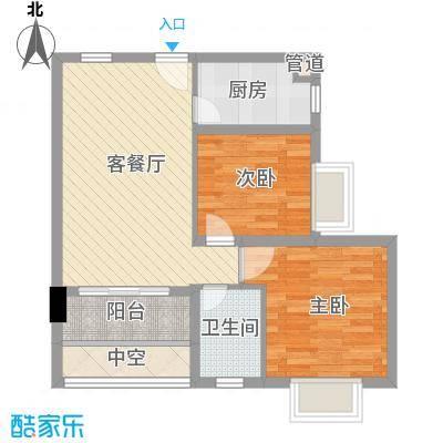 合兴福邸67.38㎡合兴福邸户型图D户型图2室2厅1卫1厨户型2室2厅1卫1厨