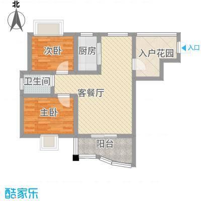 公园壹号67.49㎡公园壹号户型图b户型图2室2厅1卫1厨户型2室2厅1卫1厨
