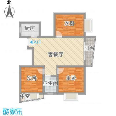 山水兰庭92.18㎡山水兰庭户型图07+1/10+1户型图3室2厅1卫1厨户型3室2厅1卫1厨
