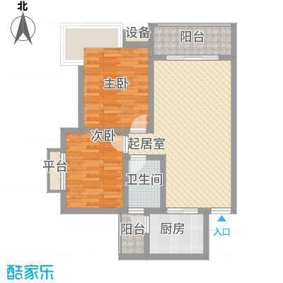 汇泽・蓝海湾户型图A-1