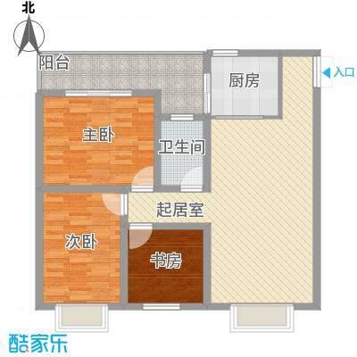 汇泽・蓝海湾户型图B-1