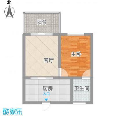 吉粮康城吉粮康城户型图1-F06房户型图1室1厅1卫1厨户型1室1厅1卫1厨