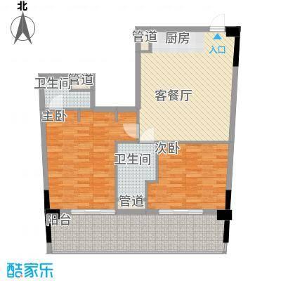三亚力合国际中心116.00㎡三亚力合国际中心户型图C3户型平面图户型10室