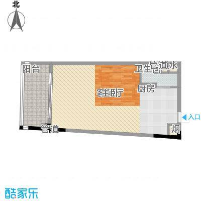 三亚力合国际中心68.00㎡三亚力合国际中心户型图C1户型平面图户型10室