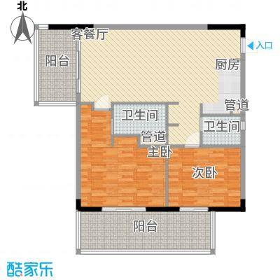 三亚力合国际中心136.97㎡三亚力合国际中心户型图A4户型平面图户型10室